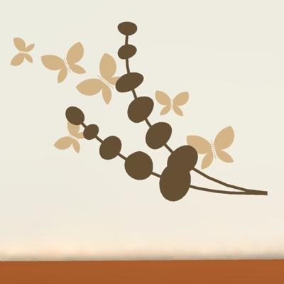 wall decal plants 3d model - formfonts 3d models & textures