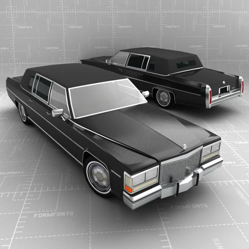 Cadillac Clic Limo 3D Model - FormFonts 3D Models & Textures