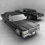 FormFonts 3D Model Limousine