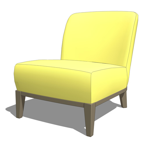 IKEA Stockholm Chair 3D Model