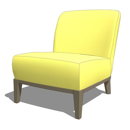 Ikea stockholm chair 3d model formfonts 3d models textures - Ikea chaise stockholm ...