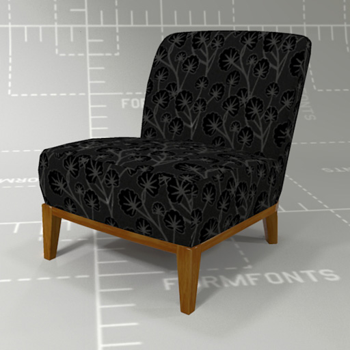 IKEA Stockholm Chair 3D Model - FormFonts 3D Models & Textures