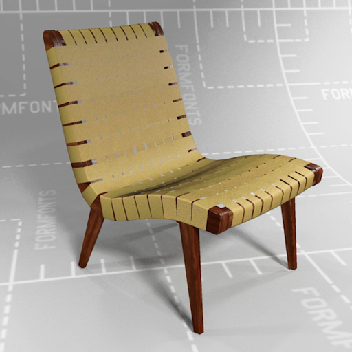 Knoll Risom Lounge Chair.