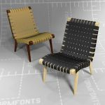 Knoll Risom Lounge Chair