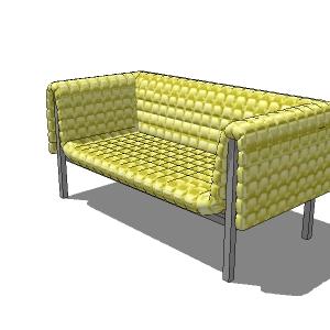 Ligne Roset Ruché Sofa 3D Model