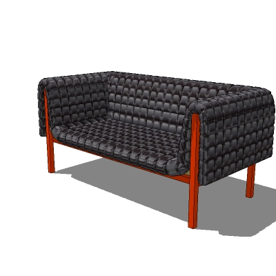 sofa 02 3d model formfonts 3d models textures male. Black Bedroom Furniture Sets. Home Design Ideas