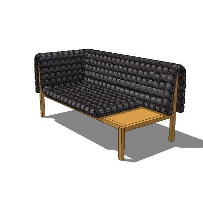 ligne roset ruch sofa 3d model formfonts 3d models. Black Bedroom Furniture Sets. Home Design Ideas