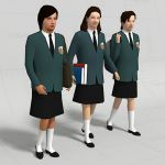 Students in Uniform 10 (6th form 