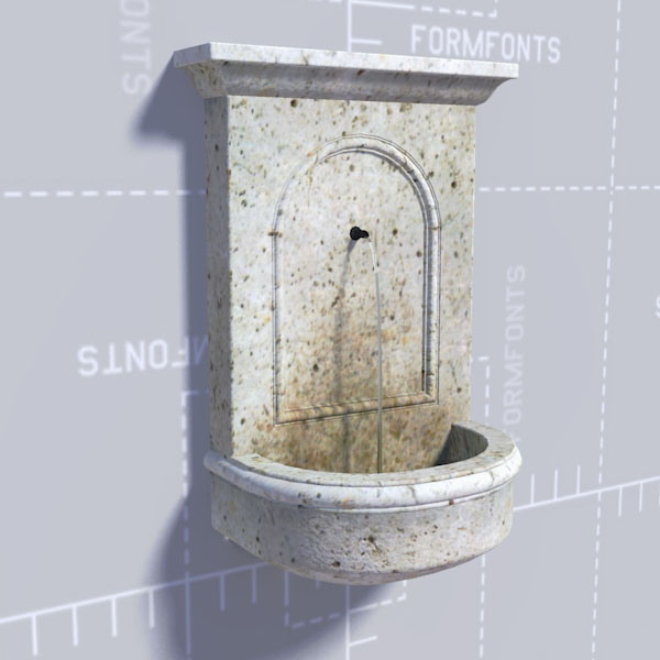 Portico Wall Fountain.