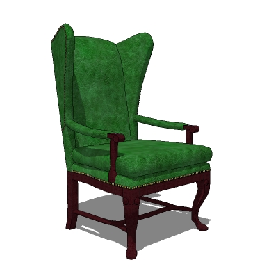 Hollywood Regency Wingback Chair In A Choice Of 4 .