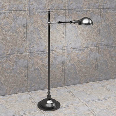 Pharmacy lamp 3d model formfonts 3d models textures pharmacy floor lamp by restoration hardware 50qu aloadofball Images