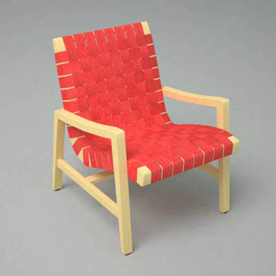 Lounge Chair With Arms, Designed By Jens Risom For.
