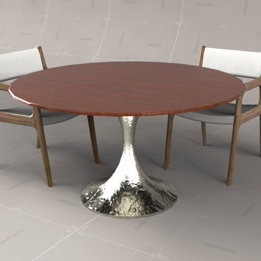 Dakota Circular Dining Table By Julian Chicheste
