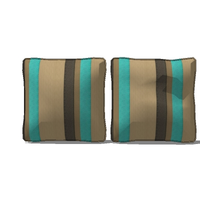 "Four sets of 15"" seat cushions. Each configur...."