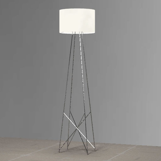 Wall Lamps 3d Model Free : Flos Ray Floor Lamp 3D Model - FormFonts 3D Models & Textures