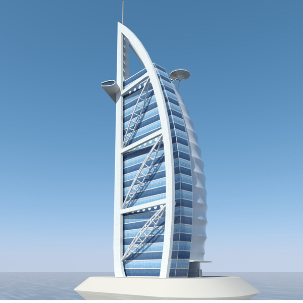 Famous buildings of the world dubai tower pictures for Important buildings in the world