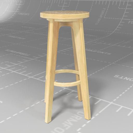Wondrous West Elm Klisnos Stools 3D Model Formfonts 3D Models Inzonedesignstudio Interior Chair Design Inzonedesignstudiocom