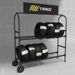 This set includes de rack and a 