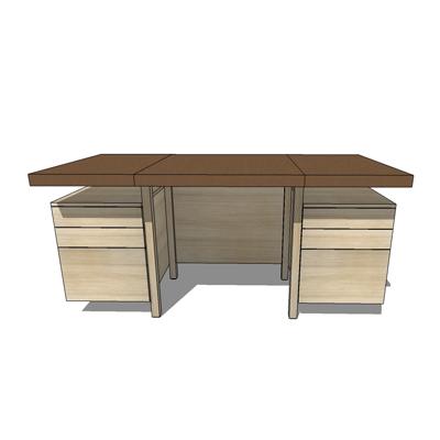 kadloo desk 3D Model FormFonts 3D Models Textures