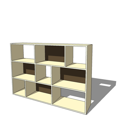 Manto low storage unit by Habitat designed by Bet.  sc 1 st  FormFonts & manto low 3D Model - FormFonts 3D Models u0026 Textures