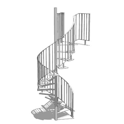 Curved Stairs Revit Family - Photos Freezer and Stair
