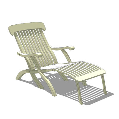 A Beautiful Outdoor Lounge Chair Creates Relaxin