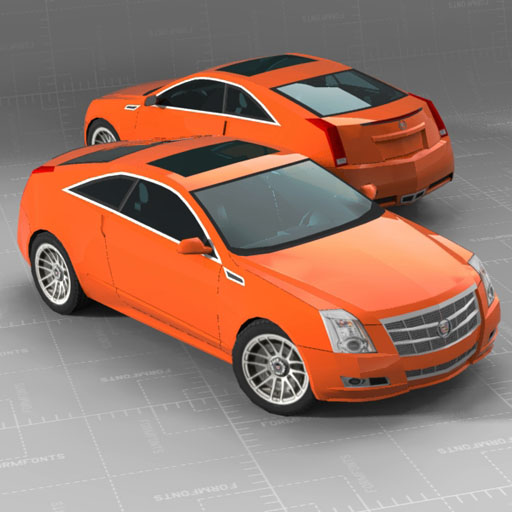 Cadillac CTS Coupe.