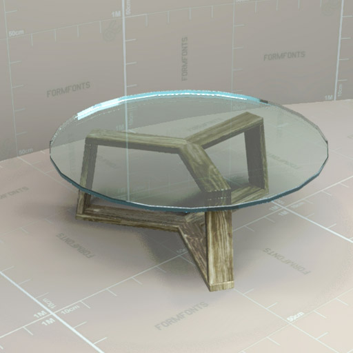 West elm ion tables 3d model formfonts 3d models textures for Coffee table texture