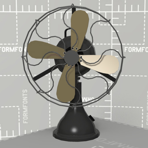 Description  Generic Vintage Desk FanVintage Desk Fan