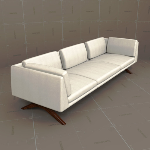 Delaespada Hepburn Sofa 3d Model Formfonts 3d Models