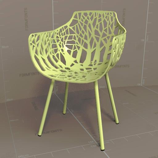 Forest Armchair 3D Model - FormFonts 3D Models & Textures