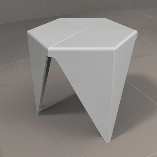 Vitra Prismatic Table.