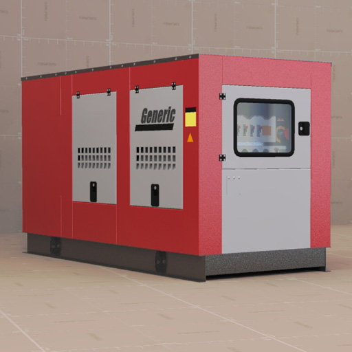 Power Generator 3d Model Formfonts 3d Models Amp Textures
