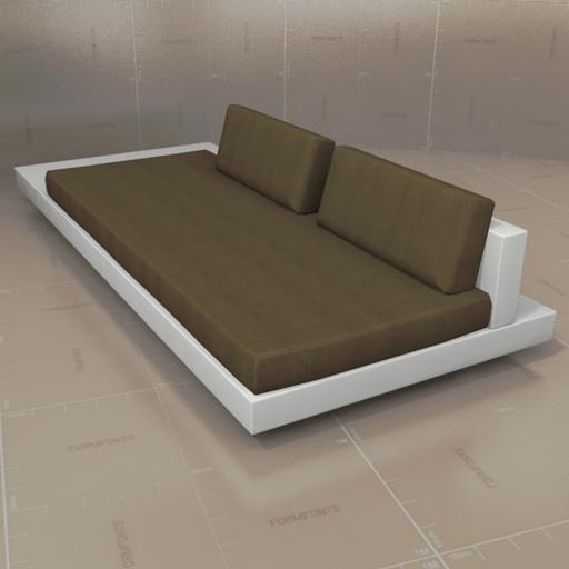 rausch garden furniture 3d model