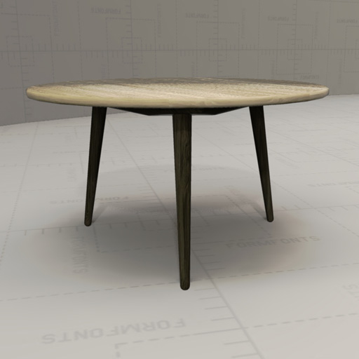 Hans Wegner Coffee Table 3D Model