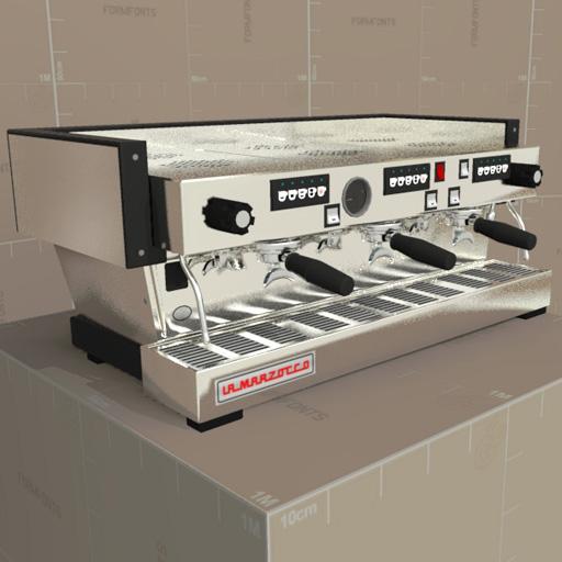 Lamarzocco Linea 3 3d Model Formfonts 3d Models Amp Textures