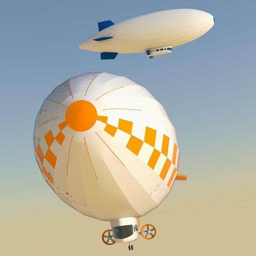 Skyship 600 3D Model - FormFonts 3D Models & Textures