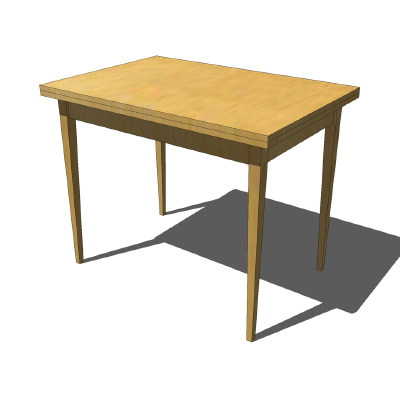 Ikea Jussi Table Wooden Normal Position