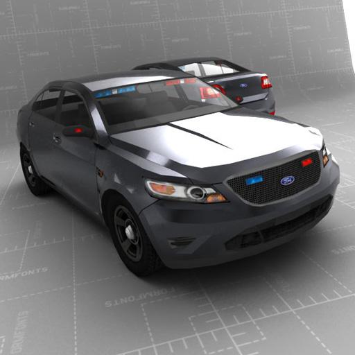 Ford Taurus Police Set 3d Model Formfonts 3d Models