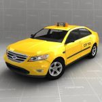Ford Taurus Taxicab