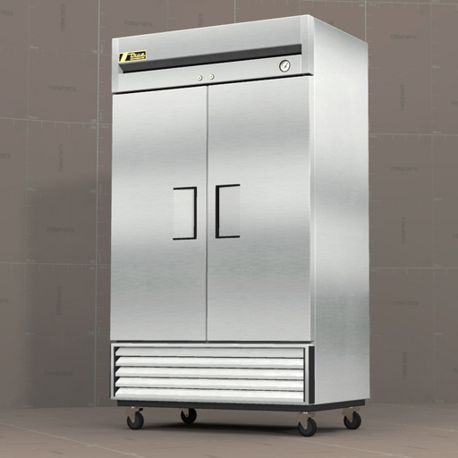 TRUE T43 Refrigerator - Revit Format Added.