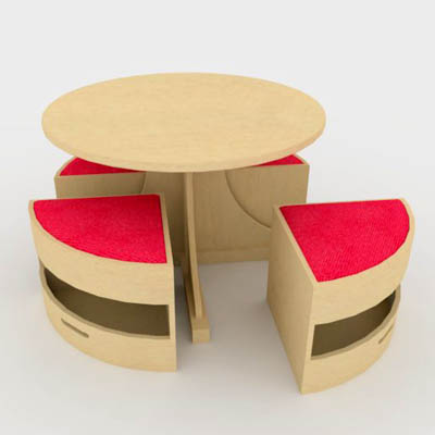 Children Table Chair Sets On Childrens Circular Table And Chair Set By  Sensory