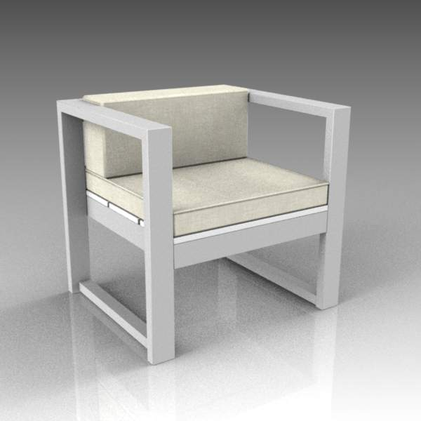 Modern outdoor furniture set, comprising low-level....