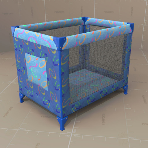 is blue itm sided playard mesh pen storage s baby loading portable navy play image travel cribs crib toddler