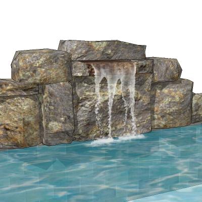 Waterfalls 1 3d Model Formfonts 3d Models Amp Textures
