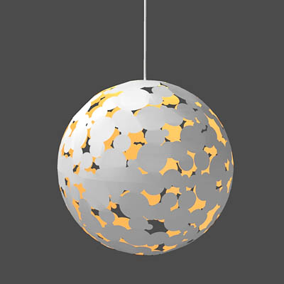 Camouflage pendant 3d model formfonts 3d models textures zero interiors camouflage pendant lamp in 2 sizes aloadofball Image collections
