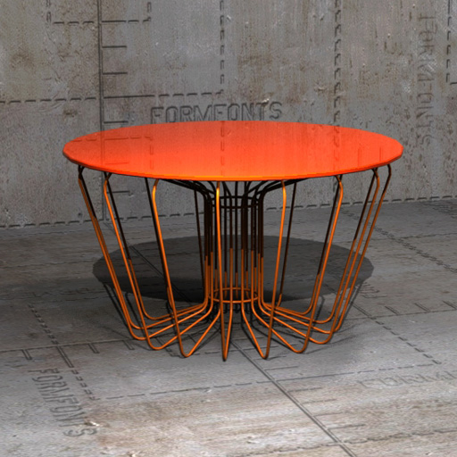 Arik Levy Wire Tables.