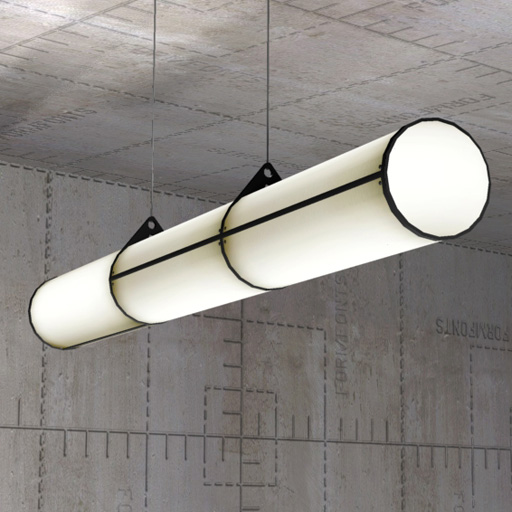 Endless Pendant Light 3D Model