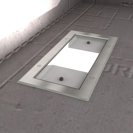 Wall Light Revit Model : Inground Recessed Lights 3D Model - FormFonts 3D Models & Textures