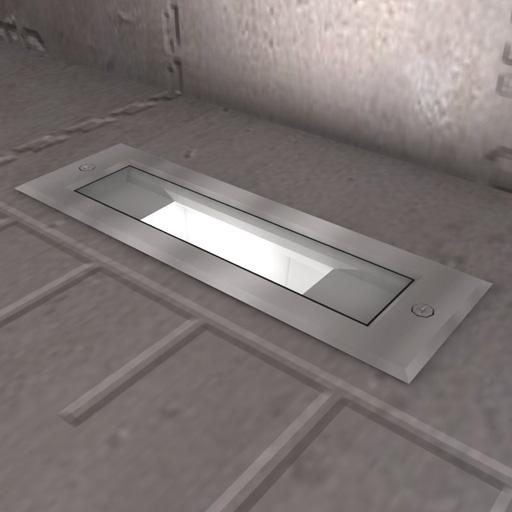 Outdoor Lights Revit: Inground Recessed Lights 3D Model